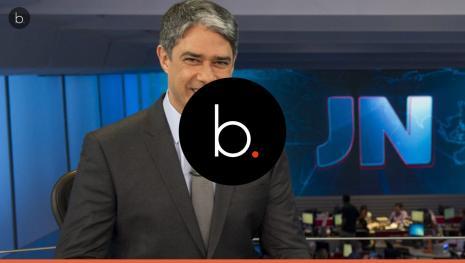 Bonner acaba constrangendo funcionários nos bastidores da TV Globo e é malvisto