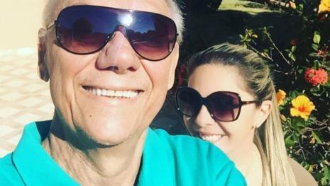 Namorada de Marcelo Rezende enfrenta doença grave