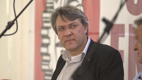 Maurizio Landini è intervenuto alla Festa di Sinistra Italiana