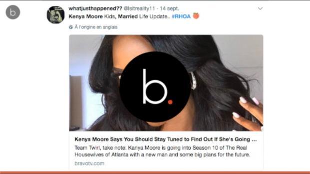"Kenya Moore from ""RHOA""is she's really married?"