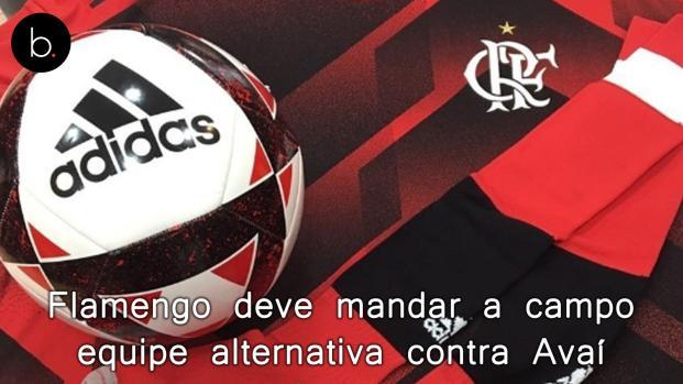 Flamengo deve mandar a campo equipe alternativa contra Avaí