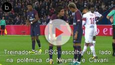 Treinador do PSG já escolheu um lado na polêmica de Neymar e Cavani