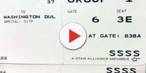 Codice misterioso sulle carte d'imbarco.