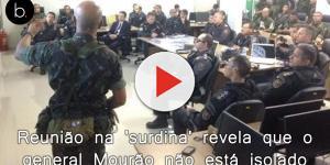 Reunião na 'surdina' do Exército revela que o general Mourão não está isolado