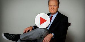 Clip surfaces of MSNBC's Lawrence O'Donnell throwing a tantrum