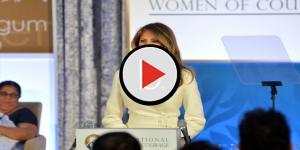 Melania Trump hilariously mocked for tweet about Michelle Obama's veggie garden
