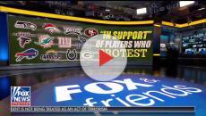 Fox News host defending Donald Trump in NFL, NBA national anthem feud