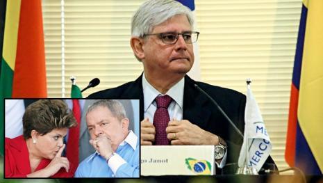 Rodrigo Janot mira em Dilma e revela o uso de 'mensagem secreta'