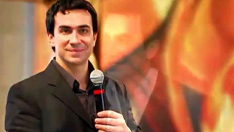Padre Fábio de Melo assiste a show de Ney Matogrosso no 'Rock in Rio'