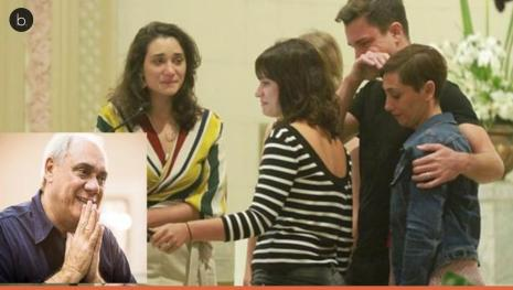 Detalhe cruel em missa de Marcelo Rezende divide fãs