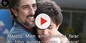 Marcos Mion emociona ao falar do filho autista: 'Grato a Jesus'