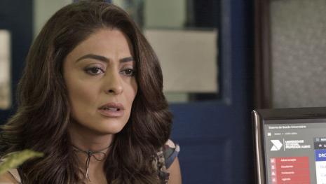 'A Força do Querer': Bibi humilha Rubinho na cadeia e revela traição: 'Corno!'