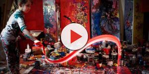 La niña pintora de España es todo una prodigio
