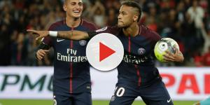 Neymar y Dani alves intentan convencer a un jugador del Real Madrid de fichar