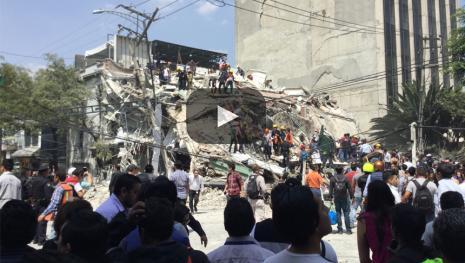 El drama de las escuelas destruidas por los terremotos