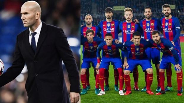Real Madrid : Zidane veut tacler le FC Barcelone sur ce joueur !