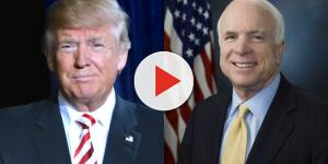 Donald Trump 'physically mocks' dying John McCain