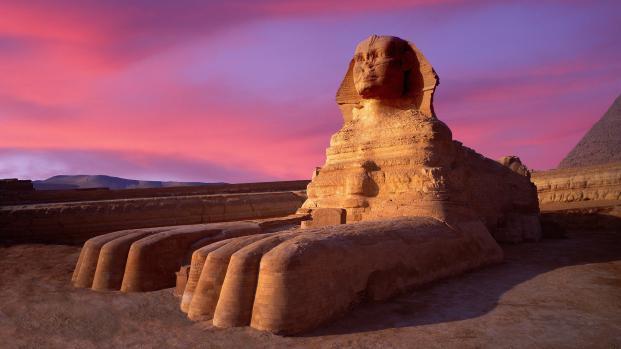 La esfinge de Giza todavía esconde secretos