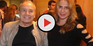 Vendo sua mulher sofrer, ator da Globo fica desesperado e implora a Deus