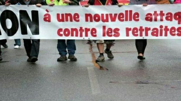 Hausse de la CSG : Les retraités manifestent dans plusieurs villes de France
