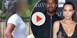 Kardashian surrogate first spotted in public