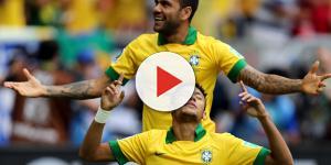 Neymar y Dani Alves le buscan reemplazante a Cavani