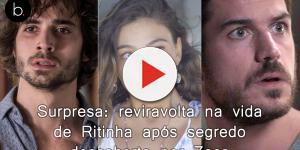 Surpresa: reviravolta na vida de Ritinha após segredo descoberto por Zeca
