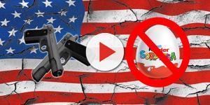 In America l'uovo Kinder è vietato ma i fucili sono legali