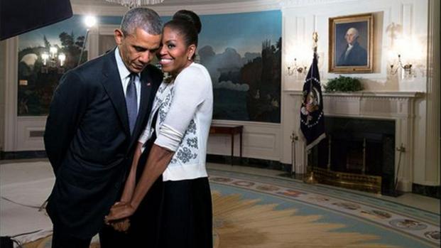 25 años de matrimonio de Michelle y Barack Obama