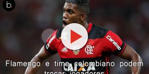 Flamengo e time colombiano podem trocar jogadores