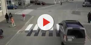 Le strisce pedonali 3D arrivano in Islanda