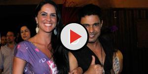 Assista: Zezé faz surpresa para Graciele Lacerda e Wanessa Camargo despreza fest