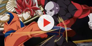 'DBS': Son Goku unleashes the Spirit Bomb.