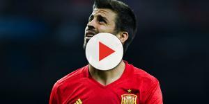 Gerard Pique hizo un gesto en el partido contra Albania que molesto a miles