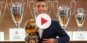 Cristiano Ronaldo subasta su balón de oro replica de 2013