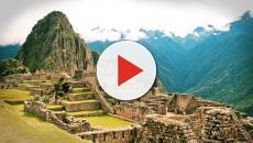 La extraña pirámide con forma de volcán encontrada en Perú