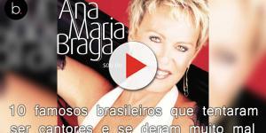 Conheça 10 famosos brasileiros que tentaram ser cantores e se deram muito mal