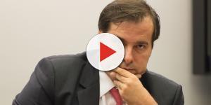 Rodrigo Maia diz que não quer deixar o poder