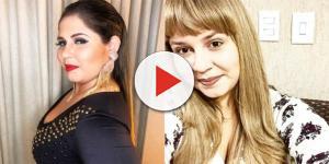 Após mudar de visual, a  cantora Marília Mendonça aparece irreconhecível; veja