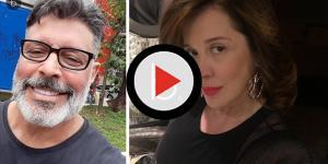 Alexandre Frota e Claudia Raia discutem nas redes e trocam ofensas