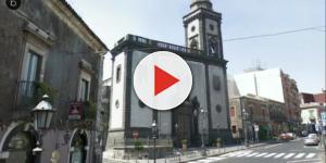 VIDEO: Mascalucia: perde il controllo della vettura schiantandosi in un muro