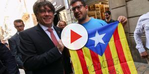 El gran tropezón en el discurso de Puigdemont