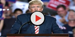 Trump embarrasses himself next to Justin Trudeau ranting at 'disgusting' media