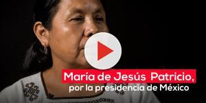 María de Jesús Patricio: mujer, indígena y candidata independiente