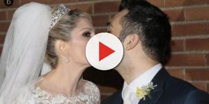 Fontenelle humilha ex em foto de casamento e diz que errar faz parte