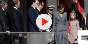 El inesperado desplante de Doña Letizia en el desfile abochorna a las redes