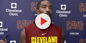 J.R. Smith talks about losing his starting spot to Dwyane Wade