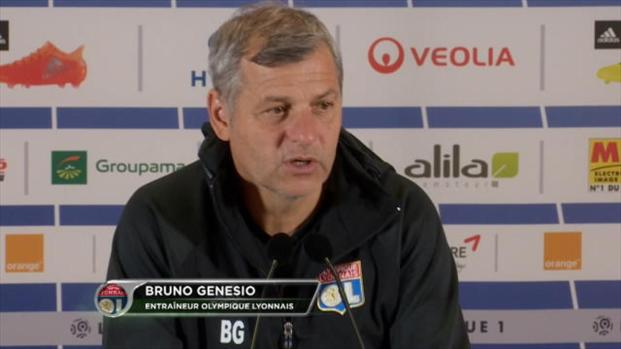 OL : Genesio se compare à Guardiola !