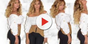 Beyoncé flaunted perfectly toned tummy following twins birth