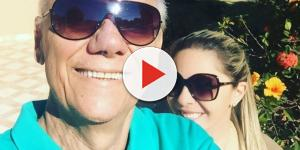 A viúva de Marcelo Rezende, Luciana Lacerda, deu o que falar em vídeo polêmico
